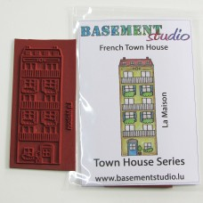 Town House Stamps -  French Town House