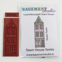 Town House Stamps - Luxembourgish Town House