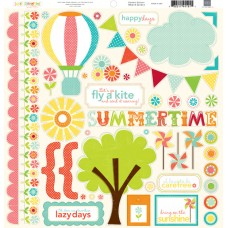 Sweet Summertime Element Sticker Sheet
