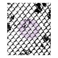 Clear Background Stamp - Wire Net