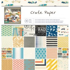 Scrapbooking Paper Pad - Crate Paper - Boys Rule