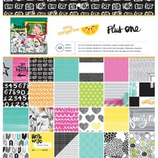 Scrapbooking Paper Pad - Amy Tangerine - Plus One