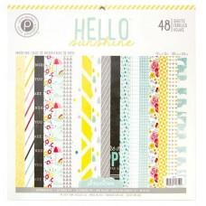 Scrapbooking Paper Pad - Pink Paislee - Hello Sunshine