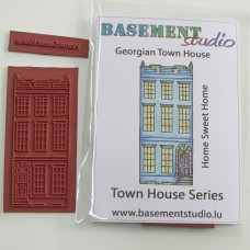 Town House Stamps -  Georgian Town House