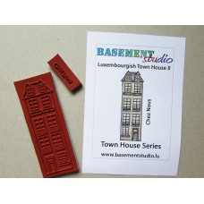 Town House Stamps -  Luxembourgish Town House II