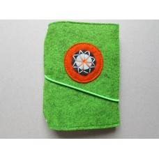 Forest Green Orange circle