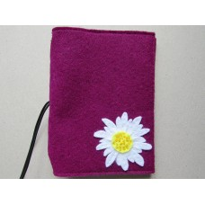 Plumb cover with a daisy design