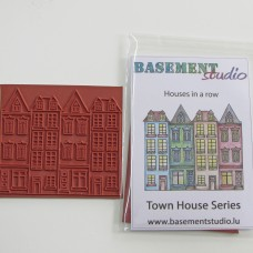 Town House Stamps - Row Of Houses