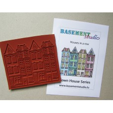 Town House Stamps - Houses In A Row