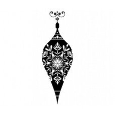 Teardrop Bauble Stamp