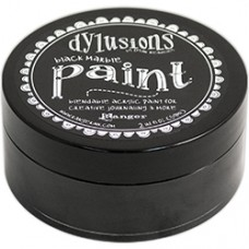 Dylusions Paint - Black Marble