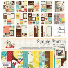 We Are Family Collection Kit by Simple Stories